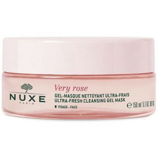 Nuxe very rose gel-masque nettoyant 150 ml
