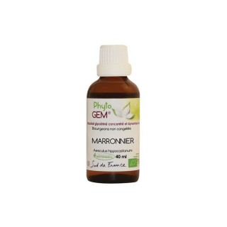 Phyto'gem Bourgeons de Marronnier Bio - 40ml
