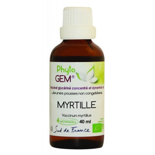 Phyto'gem Bourgeons de Myrtille Bio - 40ml