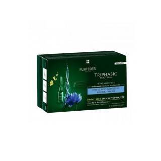 René furterer triphasic rituel anti-chute 12 x 5 ml ampoules