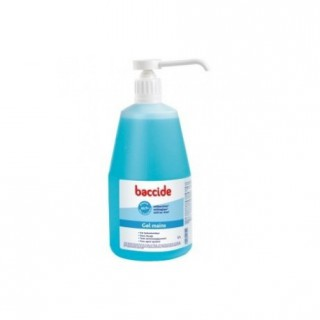 Baccide gel mains flacon pompe 1 litre