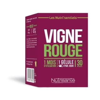 Nutrisanté Les Nutri'Sentiels Vigne rouge - 30 gélules