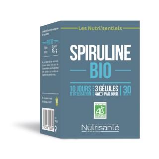 Nutrisanté Les Nutri'Sentiels Spiruline Bio - 30 gélules