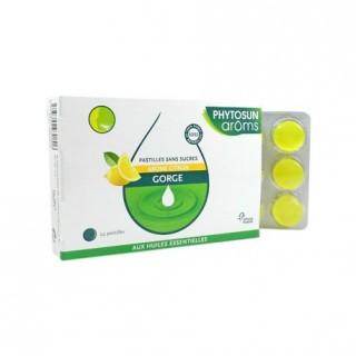 Phytosun aroms Pastilles sans sucre arôme citron 24 pastilles