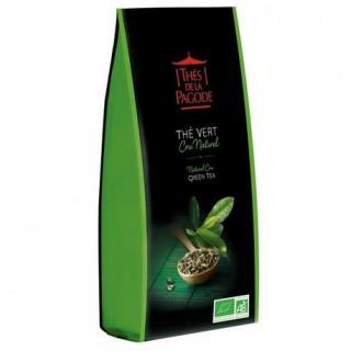 Thés de la pagode Thé vert cru naturel Gunpowder Bio - 100g