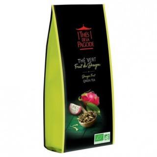 Thés de la pagode Thé vert au fruit du dragon Bio - 100g