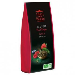 Thés de la pagode Thé vert Fruits Rouges Bio - 100g