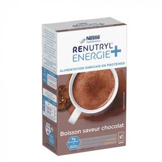 Nestlé Renutryl Energie+ boisson saveur chocolat - 7 x 30g