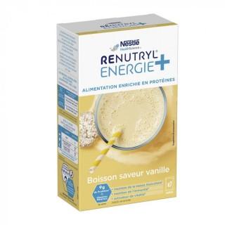 Nestlé Renutryl Energie+ boisson saveur vanille - 7 x 30g