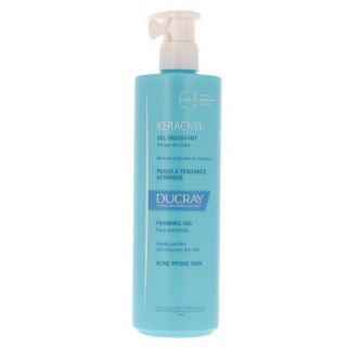 Ducray Keracnyl Acne prone skin Gel 400ml