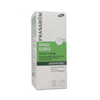 aromaforce spray gorge pranarom 15ml