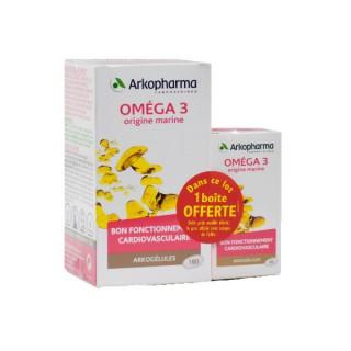 Arkopharma oméga 3 - 180 + 60 gélules offertes