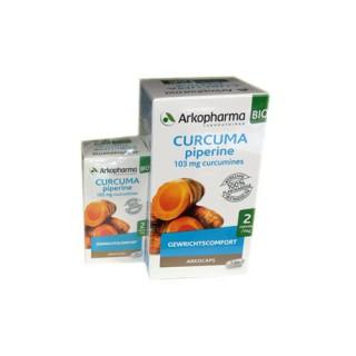 Arkopharma curcuma pipérine bio 130 gélules + 40 offertes