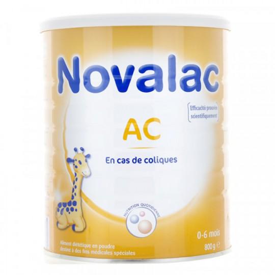 Novalac lait 1er age AC 6 800g