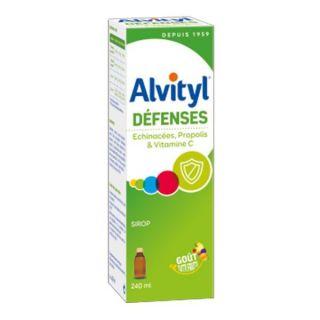 Alvityl Défenses sirop goût tutti-frutti - 240 ml