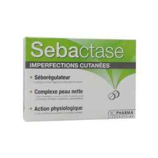 3C Pharma Sebactase 30 Comprimés