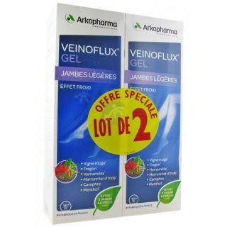 Arkopharma Veinoflux Gel Effet Froid 2 x 150ml