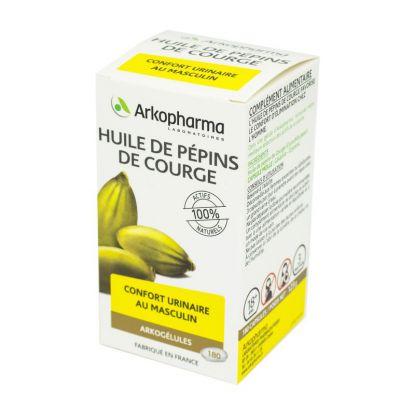 Arkogélules Pumkin seed oil 180 caps