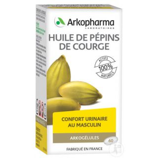 Arkogélules Pumpkin Seed Oil 180 caps+60 free