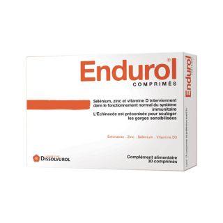Endurol 30 comprimés Dissolvurol