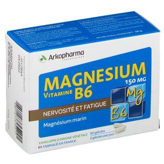 Arkopharma Magnésium Vitamine B6 Arkovital 60 Gelules