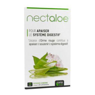Nectaloe 20 stick à boire Santé verte