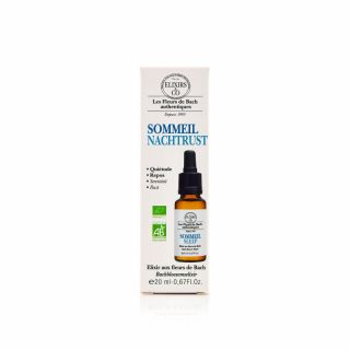 Elixirs & Co - Élixir composé sommeil - 20ml