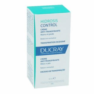 Ducray Hidrosis Control crème anti-transpirante mains et pieds - 50ml