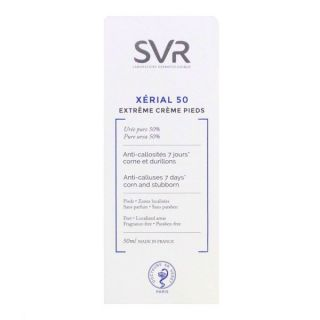 Svr Xerial 50 Extreme Feet Cream 40ml