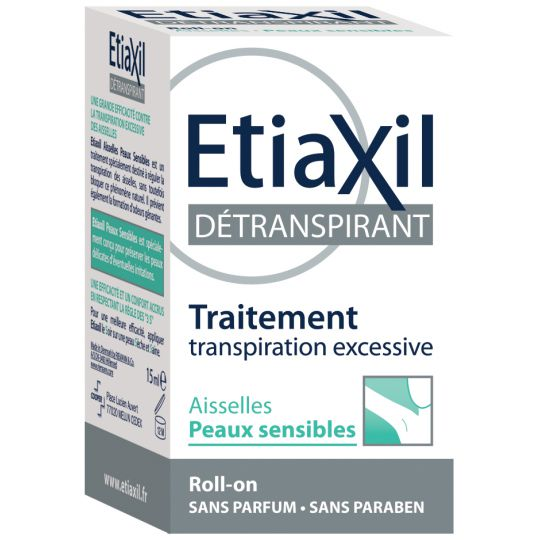 Etiaxil Armpits anti-perspiring treatment roller 15ml