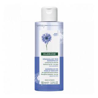 Klorane Démaquillant yeux waterproof au bleuet - 100ml