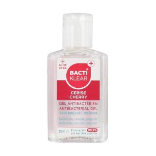 Bactiklear gel sans rinçage mains cerise 30ml