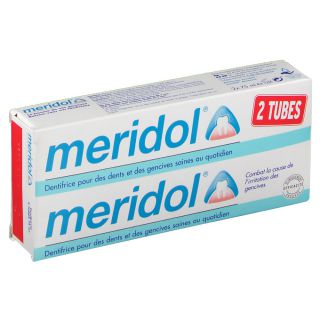 Meridol dentifrice Duo 75ml
