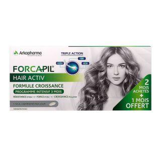 Forcapil Hair Activ Programme intensif 3 mois