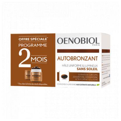 Oenobiol Autobronzant - Lot de 2 x 30 capsules