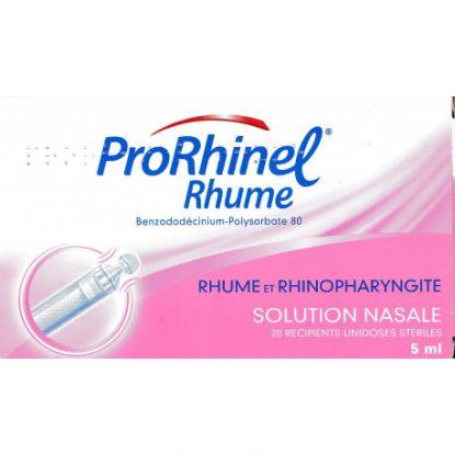 Prorhinel Solution Nasal Ampoules 5ml boites de 20