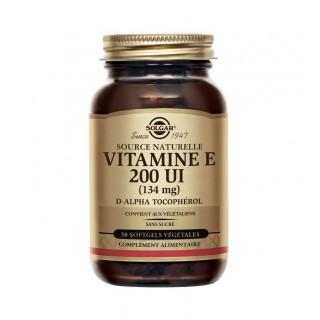 Solgar Vitamine E 200 UI - 50 capsules végétales