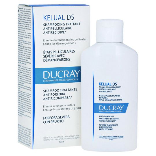 Ducray Kelual DS Shampooing anti pelliculaire 100ml