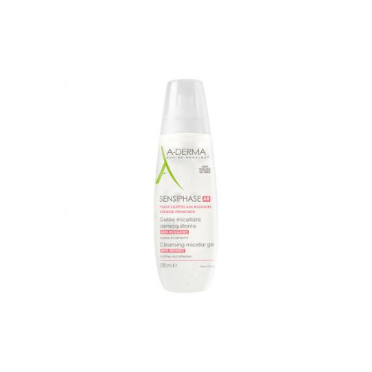 ADERMA SENSIPHASE AR GELEE MICELLAIRE ANTI-ROUGEURS 200 ML