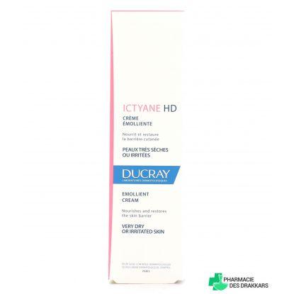 Ducray Ictyane HD Emollient Cream Very Dry Skin