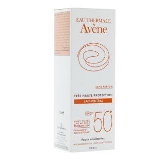 Avène mineral milk spf 50+ sans parfum 100ml