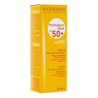 Bioderma photoderm max spf 50+ creme solaire 40ml