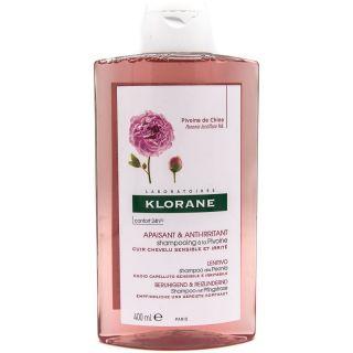 Klorane Shampooing Pivoine Apaisante 400ml