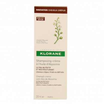 KLORANE SHAMP CREME NUTRITIF RESTRUC HUILE D'ABYSSINIE 200ML