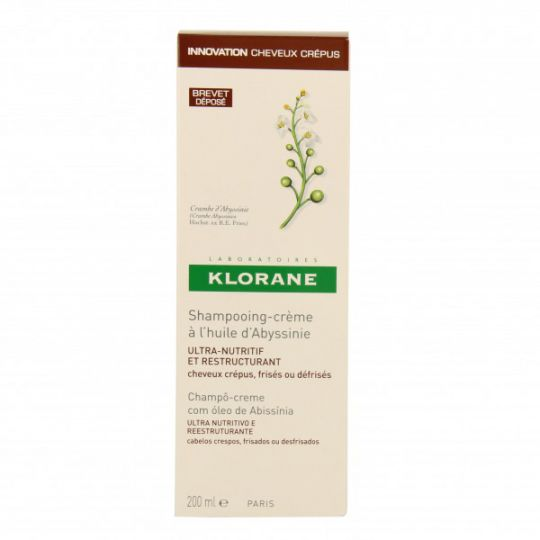 Klorane Abyssinian oil Creamy Shampoo 200ml