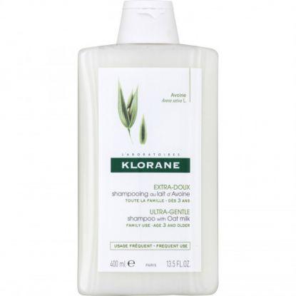 Klorane extra soft & protecting Oat milk Shampoo 400ml