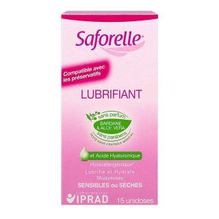 SAFORELLE lubrifiant unidose X15