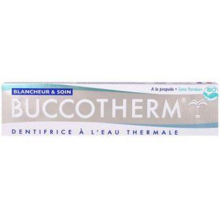 Buccotherm Dentifrice Blancheur & Soin bio - 75ml