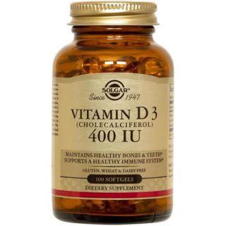 Solgar D3 Vitamin softgels