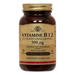 Solgar vitamine B12 500ug bte de 50